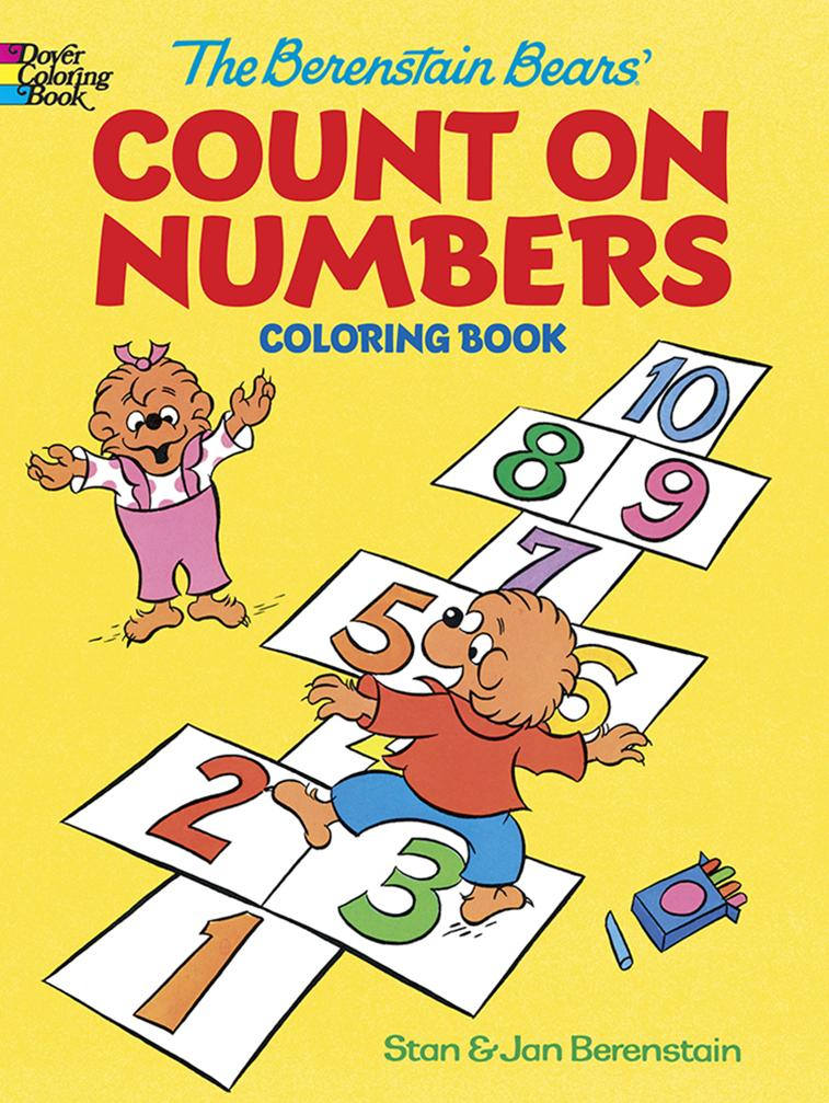 The Berenstain Bears Count on Numbers Coloring Book, ISBN ...