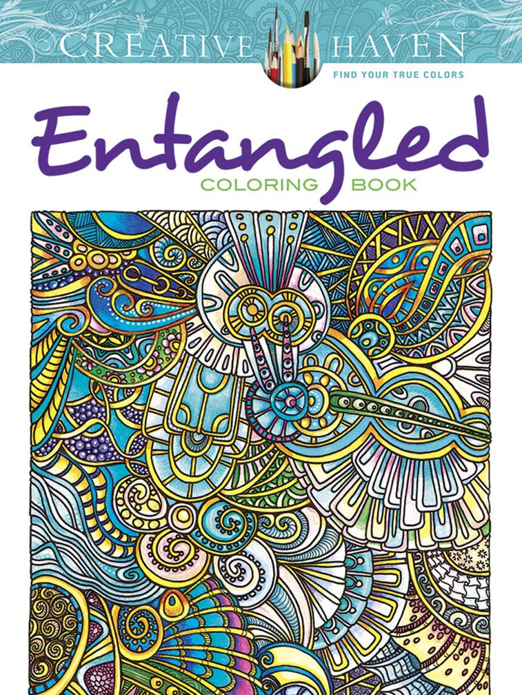 Entangled Coloring Book ISBN 9780486793276