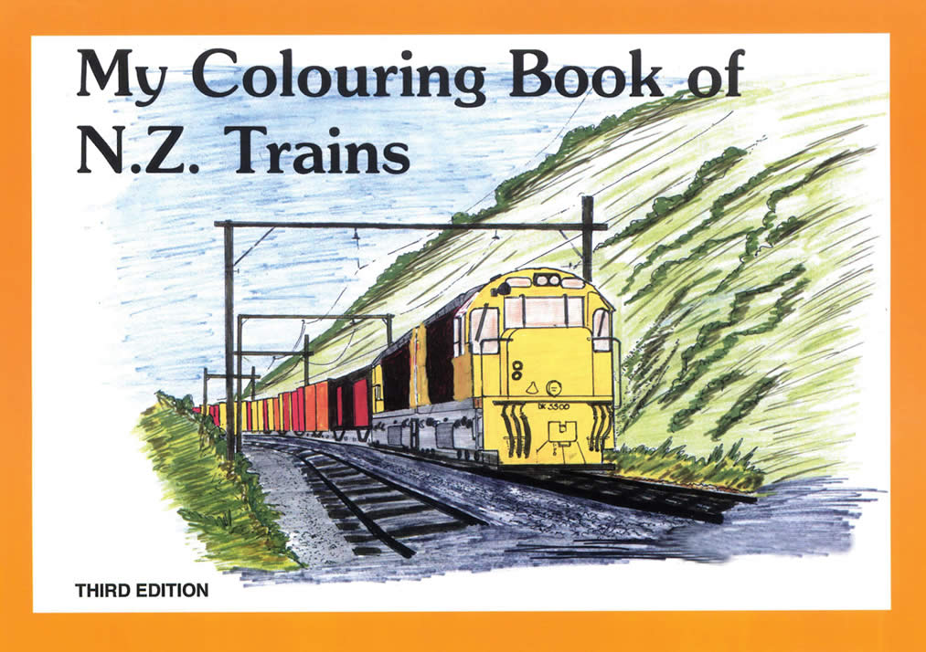 My Colouring Book of NZ Trains, ISBN: 9780908573790 - available from ...