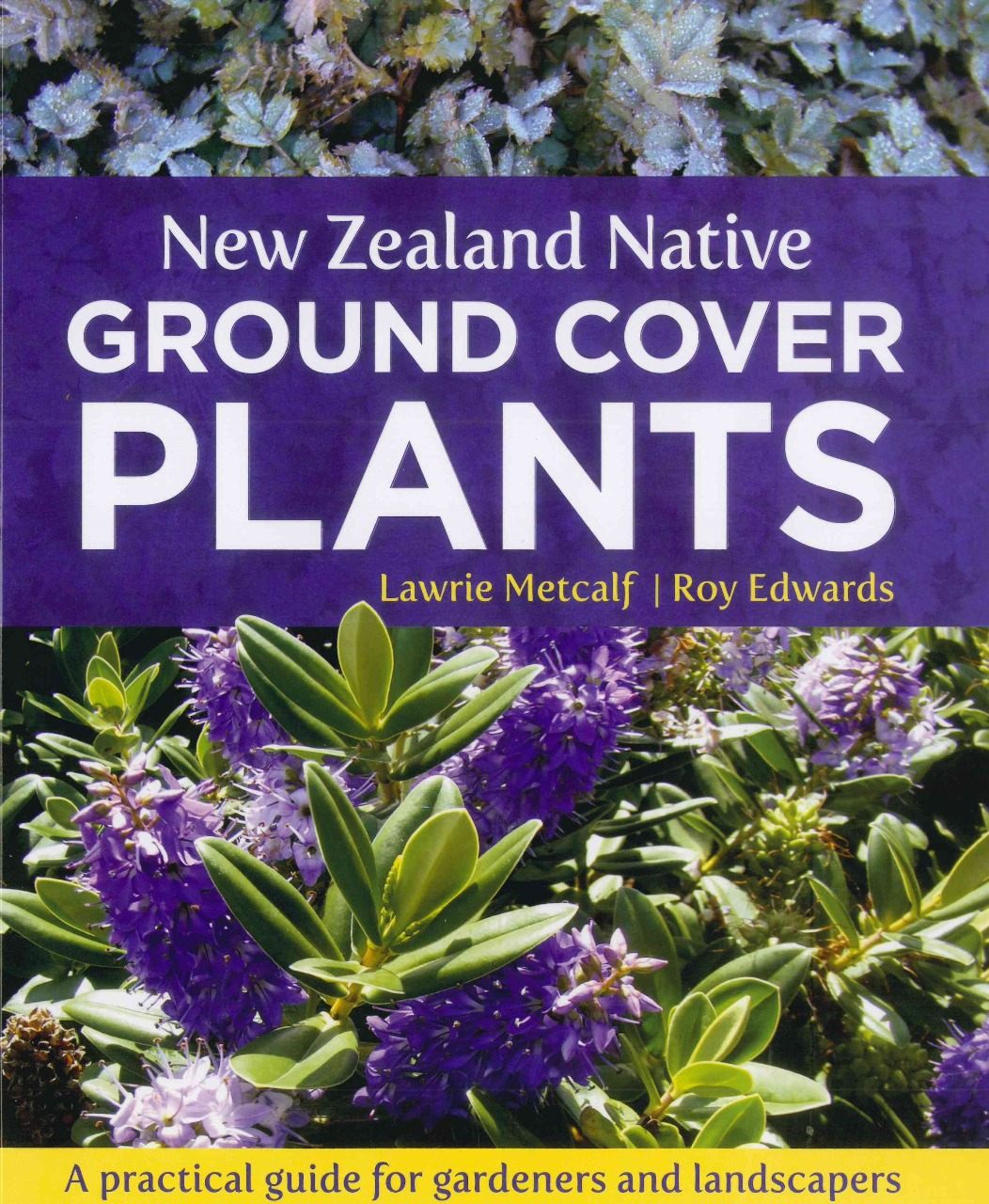 Book Cover Design Nz : New zealand native ground cover plants isbn