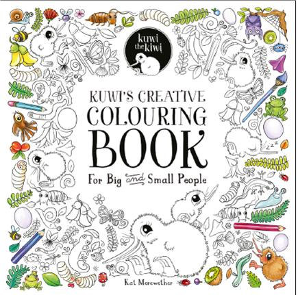 Kuwis Creative Colouring Book For Big And Small People ISBN